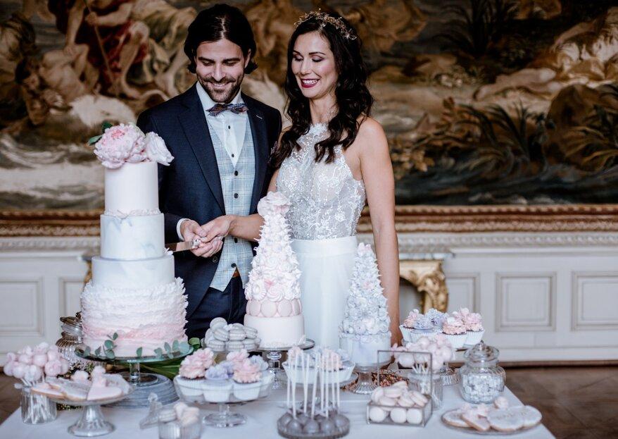 Simple Extravaganz trifft auf Beton - Inspirationen für eine Hochzeit im Frühling