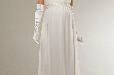 Vestidos de novia 2013 para mujeres embarazadas