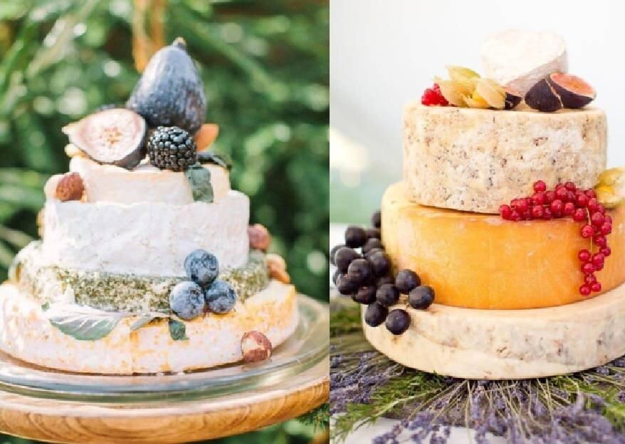 Сырный торт: смелое решение для вашей свадьбы!