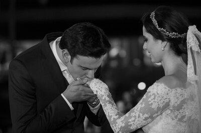 Natalia & Rafael: casamento clássico e romântico ao ar livre em Campinas