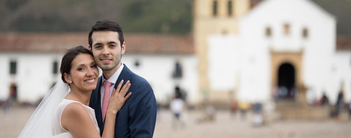 Así vivieron Karen y Sebas su boda: ¡el amor es un lugar único!