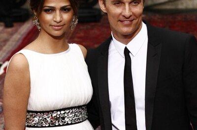Newlyweds Camila Alves and Matthew McConaughey