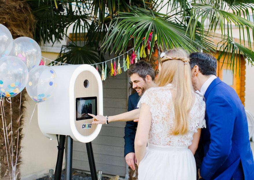 Cheerz x Printemps Mariage : tentez de gagner un photobooth pour votre mariage !