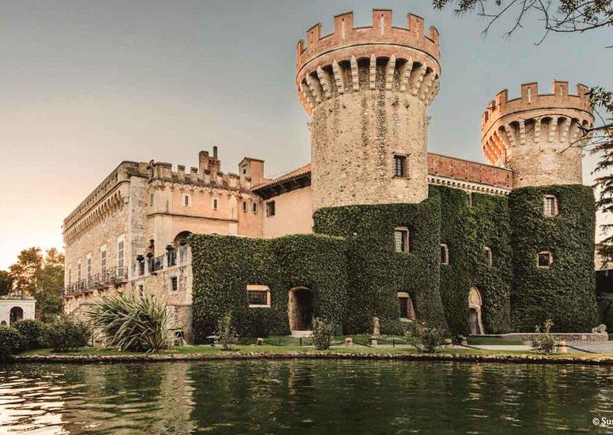 Castell de Peralada: un castillo imponente para una boda de cuento en Girona