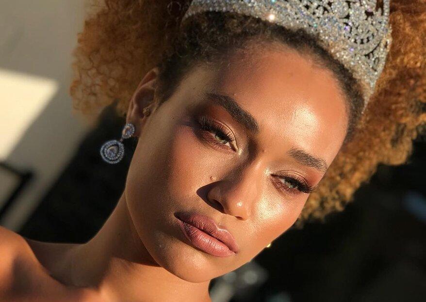 Penteados para noivas negras: os mais lindos modelos e acessórios