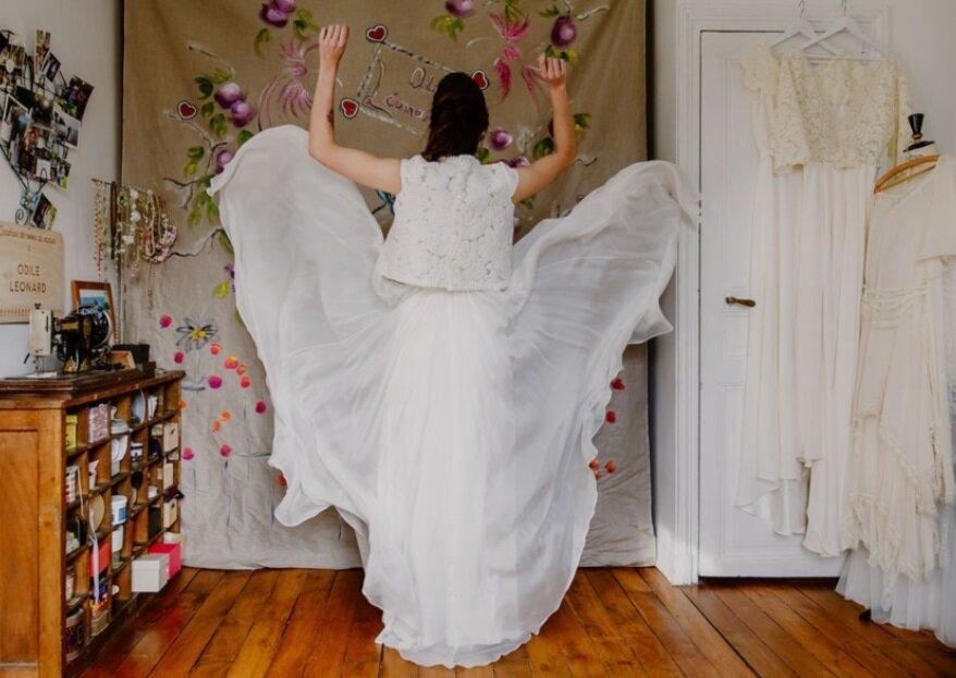 Laissez Odile Léonard faire de vous une mariée unique