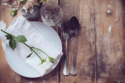 Elige el mejor menú para tu boda de invierno