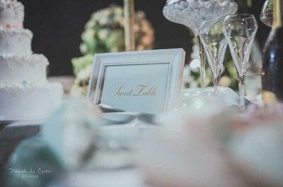Il mio sweet table è più bello del tuo! Seguite questi 3 consigli per un perfetto tavolo dei dolci