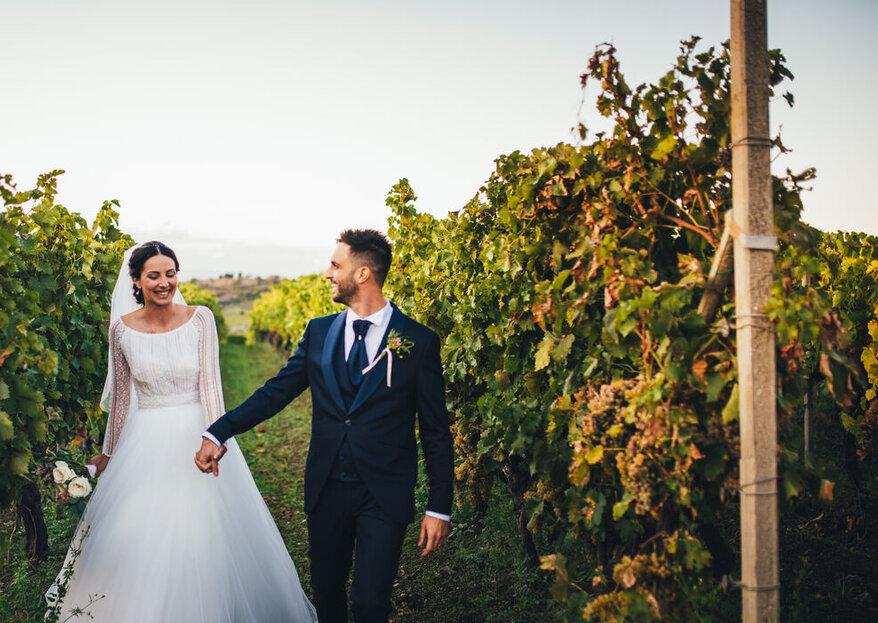 Le vostre nozze nel verde di Casale Campovecchio...un sogno che si avvera!