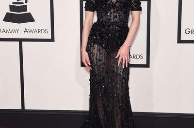 Provocação ou sofisticação: os looks de festa das famosas vistos no Grammy Awards 2015