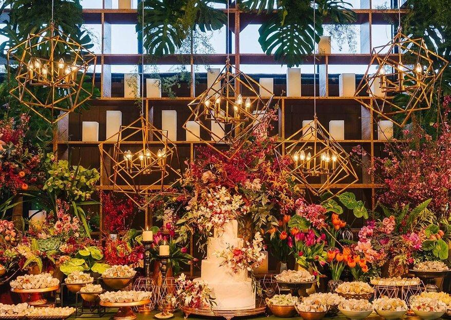 Os 11 melhores decoradores de casamento de São Paulo: conheça os profissionais que realizam TODOS os seu sonhos!