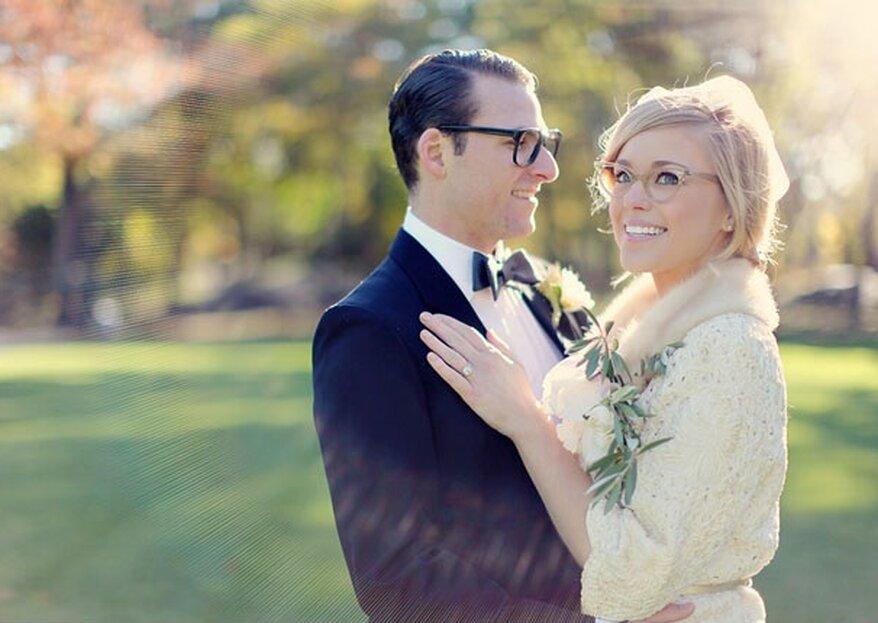 ¿Llevas gafas? Cinco consejos para el maquillaje de tu boda