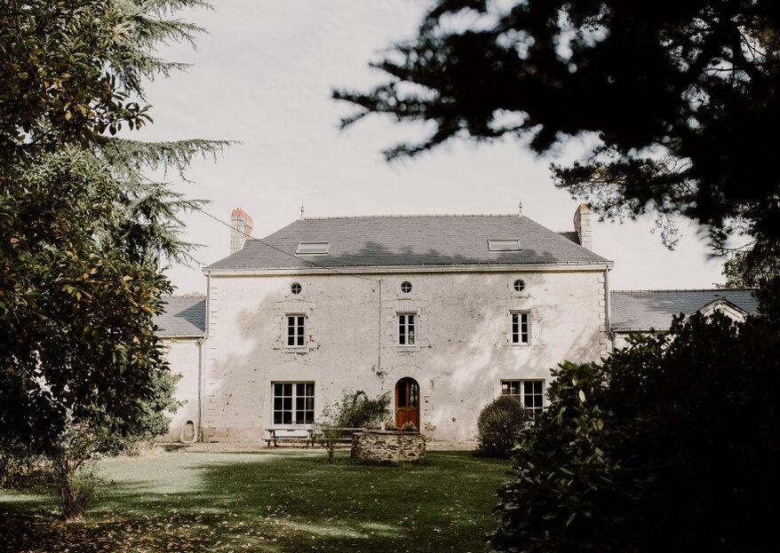 Mariage champêtre chic au Manoir Sainte Marie