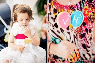 6 ideias fáceis para entreter crianças em casamentos