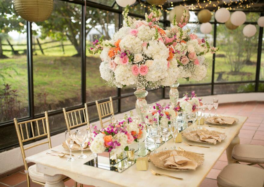 Los tres momentos de una boda regia según Eventos Regal