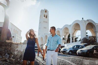 Sesja ślubna na Santorini! Marzenie każdej Pary!