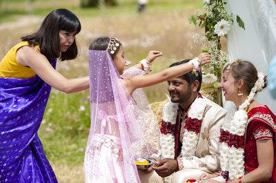 Céline + Vinod : Un mariage franco-indien, bio et écolo dans le Puy-de-Dôme
