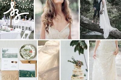 Love Nature: Una boda al natural con detalles sublimes y espacios encantadores... ¡Inspírate!