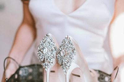Los zapatos personalizados que toda novia quiere para el día de su boda, ¿aún no los conoces?