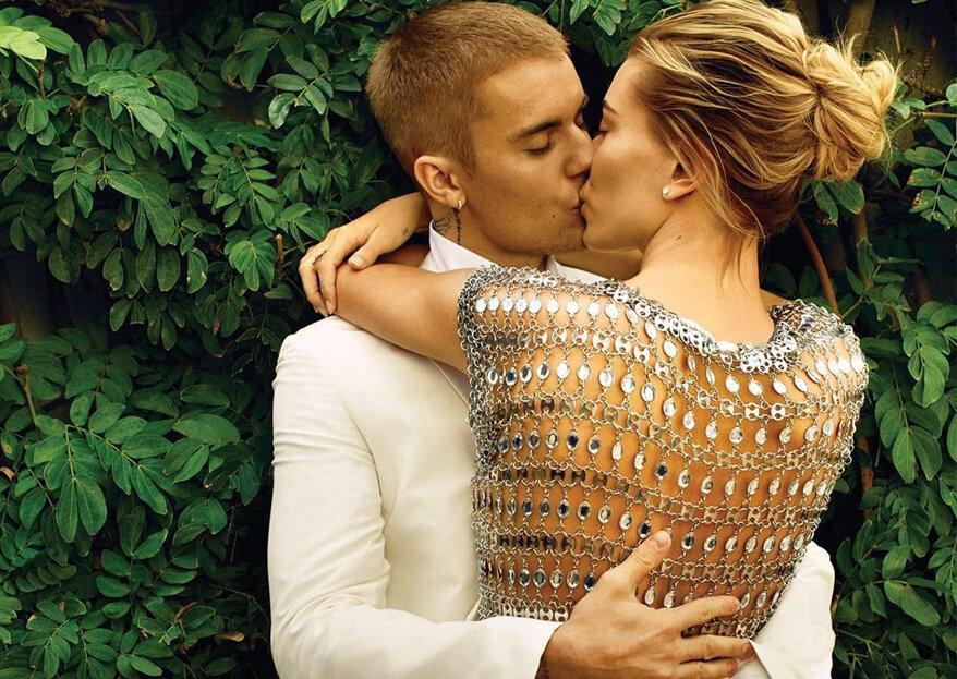 Em entrevista à Vogue, Justin Bieber e Hailey Baldwin falam sobre o casamento