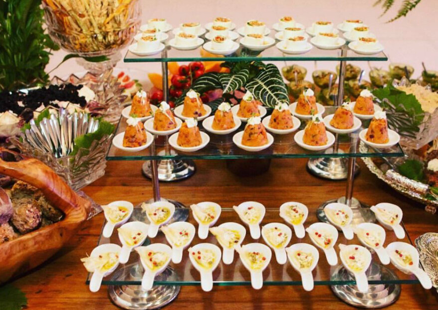 Dom Duarte Buffet: surpreenda seus convidados com ilhas gastronômicas incríveis recheadas com sabores e aromas incomparáveis!