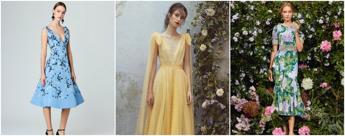 Short Dresses For Wedding Guests: Find One To Suit You This Spring/Summer