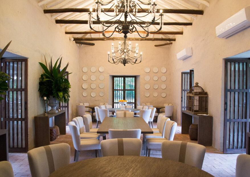 Hacienda del Bosque, la locación ideal para una boda destino en Cali