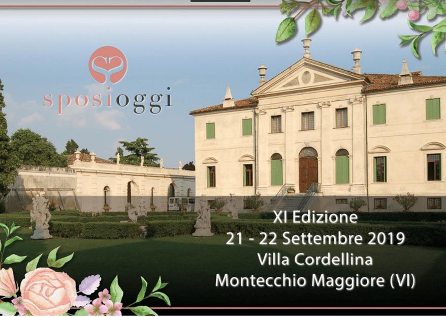 Sposi Oggi: sabato 21 e domenica 22 settembre 2019 a Villa Cordellina
