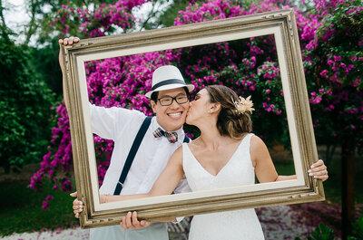 Casamento no campo de Myleni e Natan: muitos detalhes DIY e diversão!