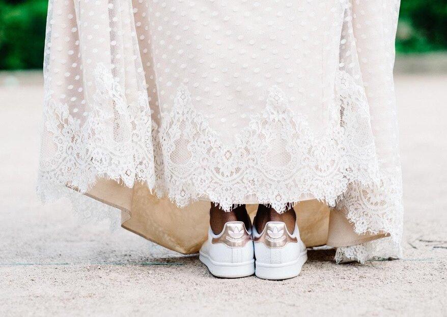 Die schönsten Sneaker für die Braut - lassen Sie sich stylisch und bequem trauen!