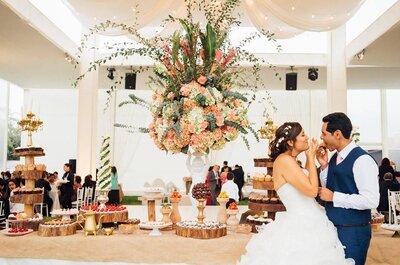 Decora el banquete para tu matrimonio con las mejores ideas de los expertos. ¡Inspírate!