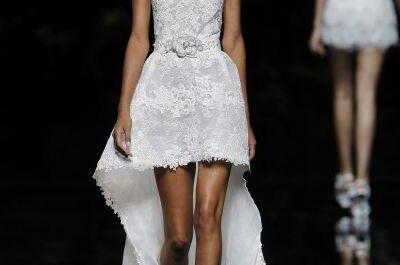 Exklusive Brautkleider mit Ausschnitt – reizende Modelle aus den Kollektionen 2013