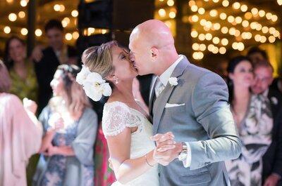 Casamento na fazenda de Fernanda & Guilherme: clima rústico com muita alegria ao ar livre!