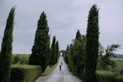 Sesja ślubna w Toskanii. Piękna i inspirująca!