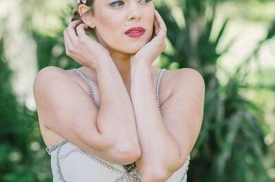 Baila al ritmo del charlestón: La inspiración retro perfecta para un look de novia surreal