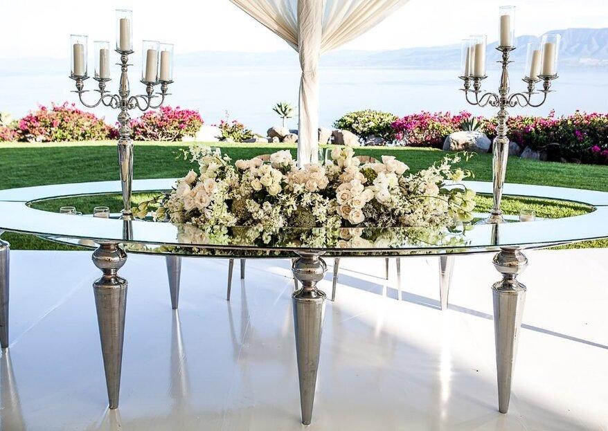 Wedding planners a la orden para el día más importante de tu vida