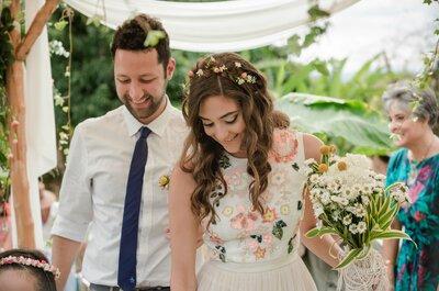 Cómo organizar una boda hippie chic: Paz, amor y creatividad, ¡los mejores aliados!