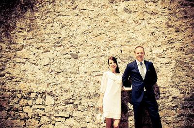 Vestidos de novia cortos: ¿te atreves?