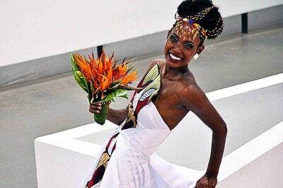 Decoração de casamento com inspiração africana: exótica, surpreendente e MARAVILHOSA!