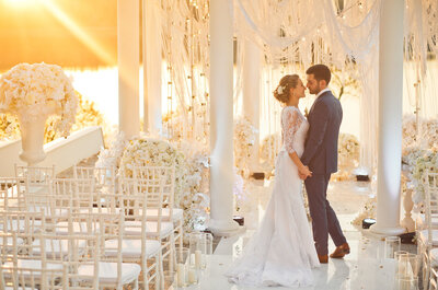Про красивые ночные регистрации: свадьба Анны и Ивана