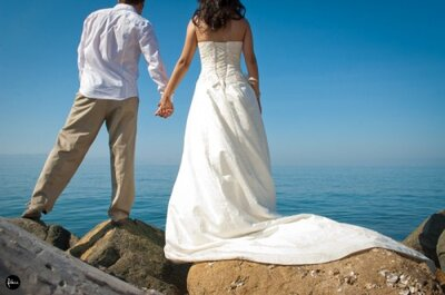 Mira esta romántica boda desde Puerto Vallarta