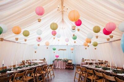 Президиум и рассадка гостей: идеи для свадьбы 2017