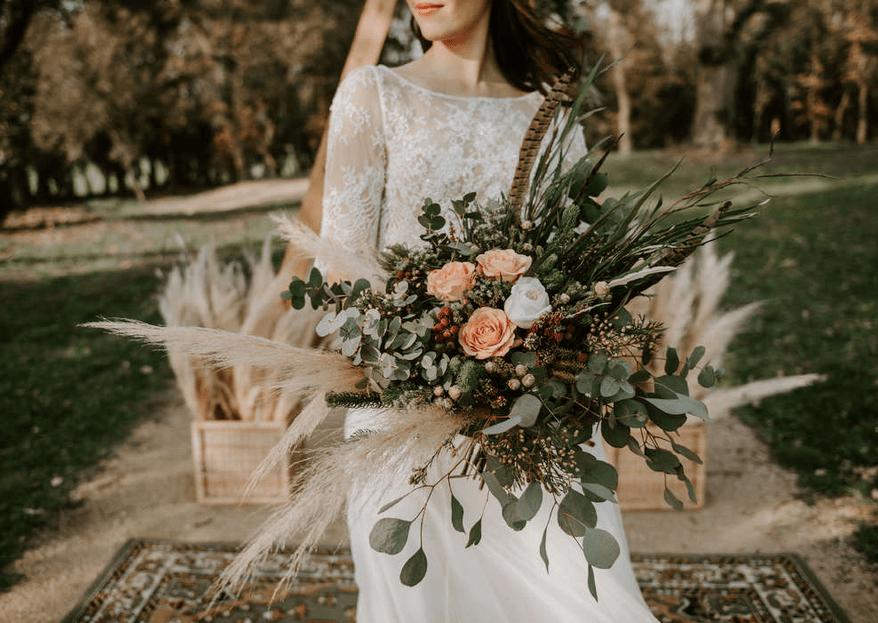 13 ramos que todas las invitadas querrán recibir en tu boda