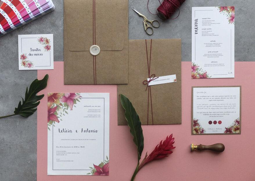 Frases para o convite de casamento: mais de 50 frases lindas para te inspirar!