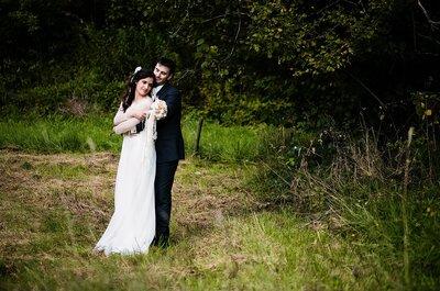 Armelle et Guy : Le mariage romantique en Savoie de deux meilleurs amis faits l'un pour l'autre