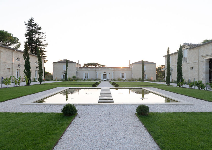 Château Gassies : un emplacement exceptionnel, un cadre idyllique, des prestations hors norme