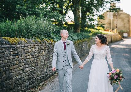 Amy and Simon's Village Hall Wedding in Slaidburn