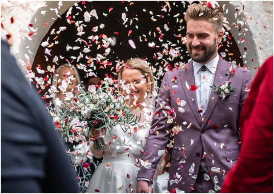 Entrée des mariés dans l'église : plusieurs possibilités pour rendre votre entrée originale