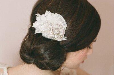 Die schönsten Hochsteckfrisuren für die perfekte Braut 2015