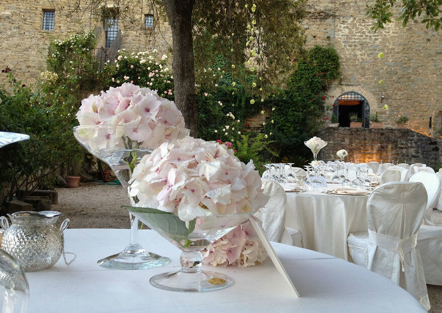 L'inespugnabile Castello di Rosciano per un matrimonio da sogno...